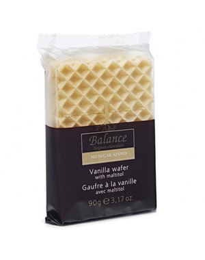 Vanilla wafers without added sugar 90g