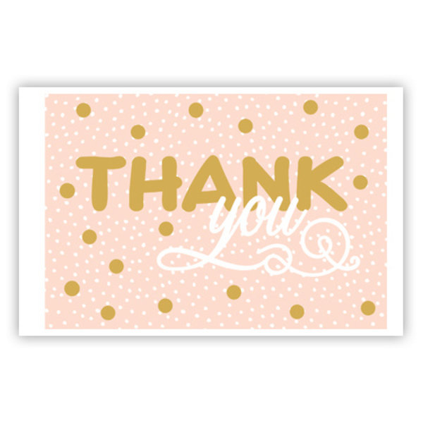 Carte de voeux 'Thank You'