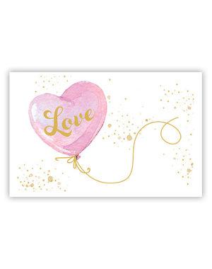 LOVE (11,5x16,5cm)