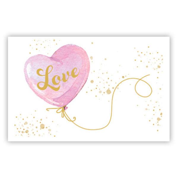 Grußkarte 'LOVE'