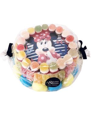 Süßigkeitentorte Minnie Mouse