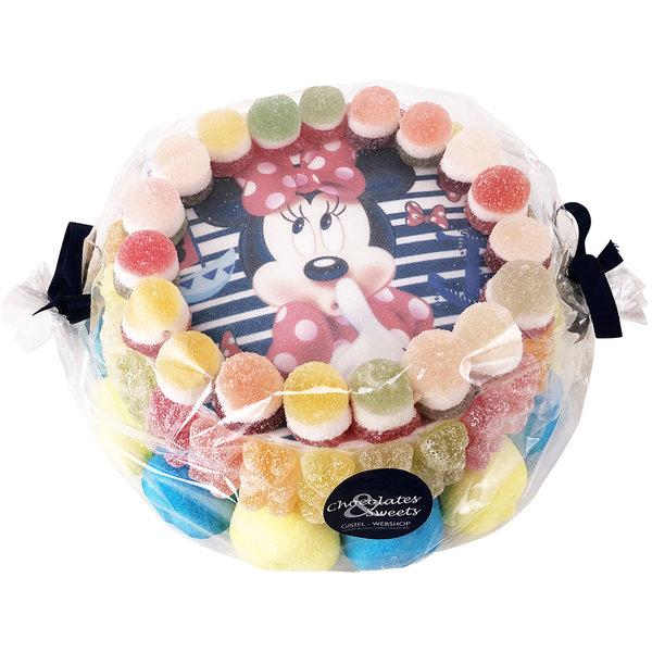 Gâteau aux bonbons Minnie Mouse