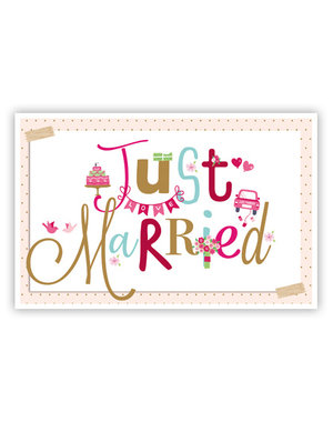 Just Married (11,5x18cm)