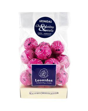 Leonidas Bag Milk chocolate balls - Pop sugar 200g
