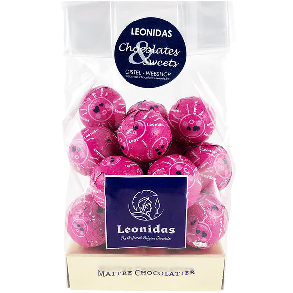 Leonidas Milk chocolate balls - Pop sugar 200g