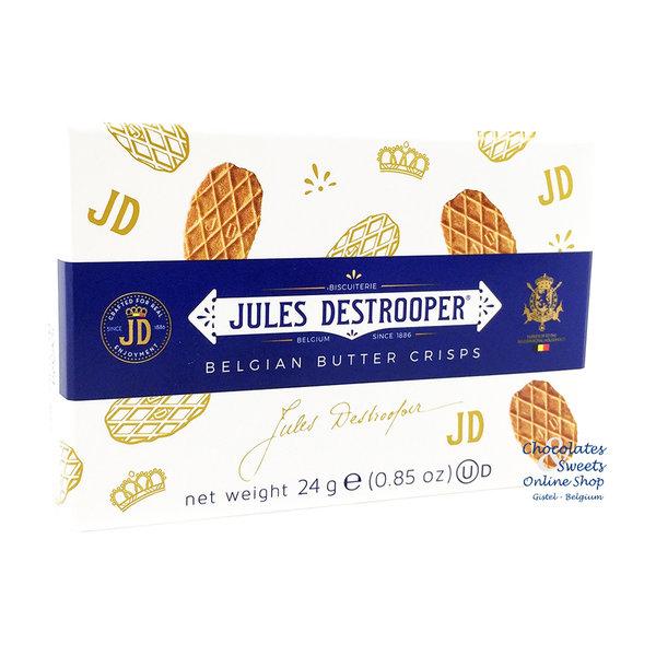 Jules Destrooper Butterwaffeln 24g