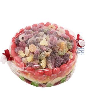 Süßigkeitentorte Mateo (XL)
