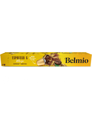 Belmio 10 Cups Espresso Allegro (6) Nespresso® kompatibel*