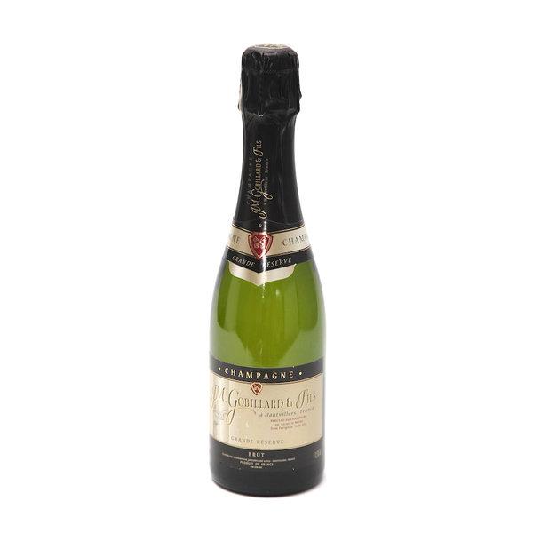 Fles Champagne Gobillard Grande Réserve 37,5 cl.