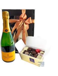 500g Chocolats et Champagne Veuve Clicquot