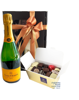 500g Chocolates and Champagne Veuve Clicquot