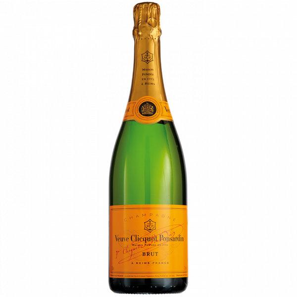 Fles Champagne Veuve Clicquot Brut 75cl.