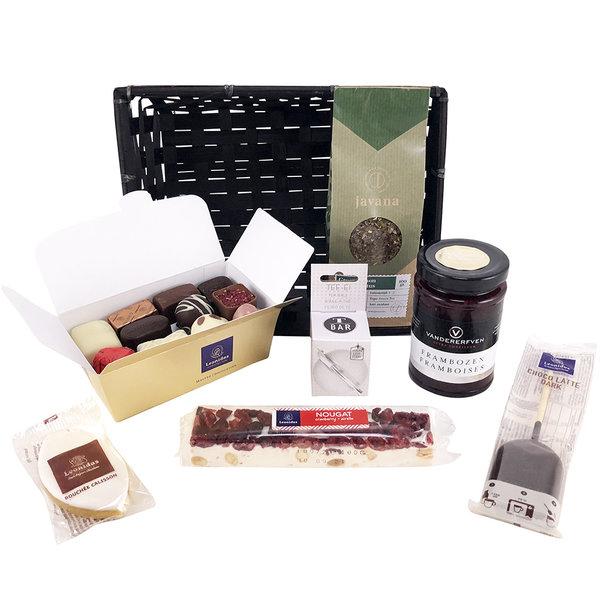 Geschenkkorb Delikatessen (Tee)