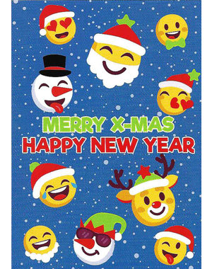 Merry X-Mas and Happy New Year (10x15cm)