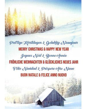 Merry Christmas & Happy New Year (10x15cm)