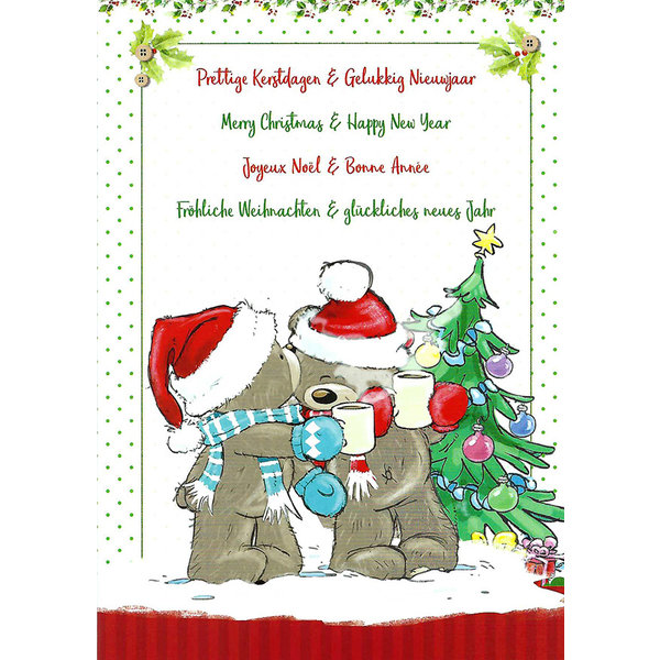 Greeting Card 'Merry Christmas - Happy New Year'