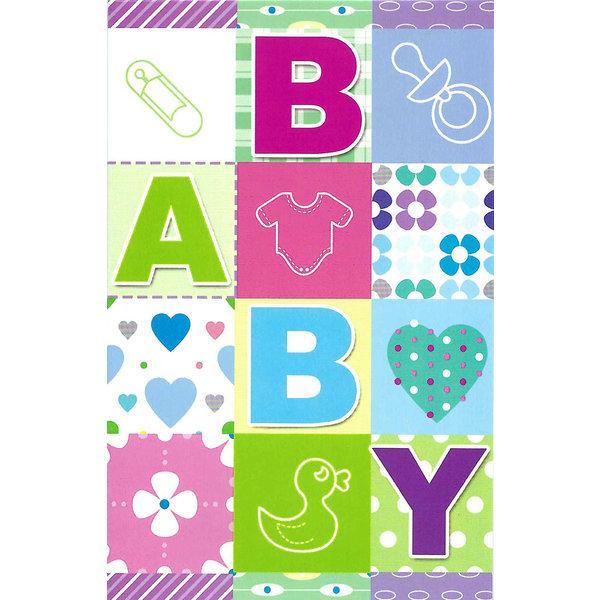 Grußkarte 'BABY'