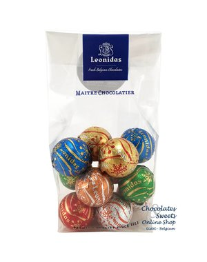 Leonidas Cello bag 8 Celebration balls