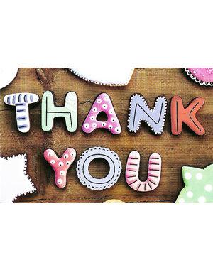 Thank You (11x17cm)