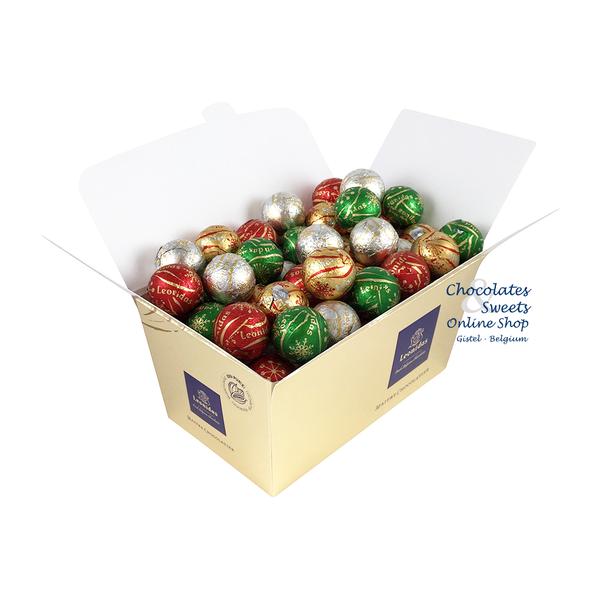 Leonidas Festliche Schokoladenkugeln 750g