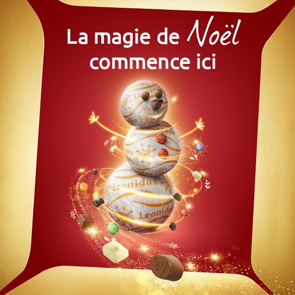 Goûtez la magie de Noël !