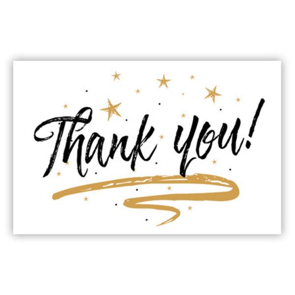 Wenskaart 'Thank You'