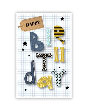 Happy birthday (11,5x18cm)