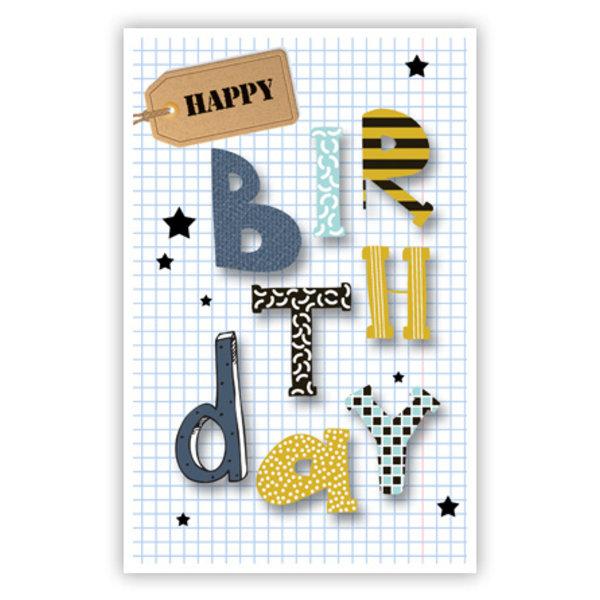 Greeting Card 'Happy birthday'