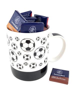 Mug 'footballs' Napolitains 250g