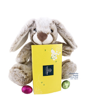 Easter Rabbit (20 cm) and 375g Easter Eggs