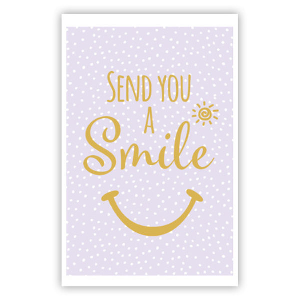 Greeting Card 'Send You a Smile'