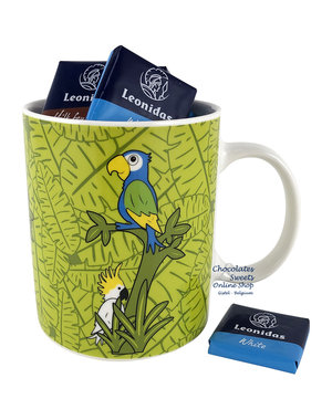 Leonidas Mug 'Jungle' Napolitains 250g