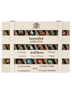 Leonidas Holzkiste 18 Likörpralinen