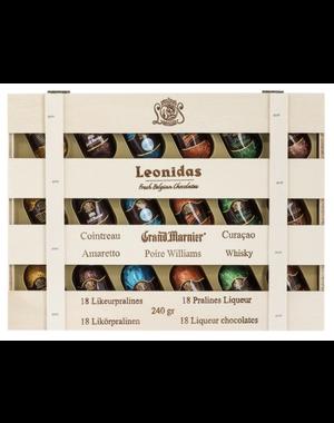 Leonidas Houten kistje 18 likeurpralines