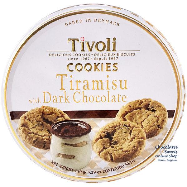 Tiramisu-Kekse mit Bitterschokolade 150g