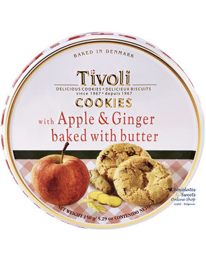 Tivoli Biscuits - Pomme & Gingembre 150g