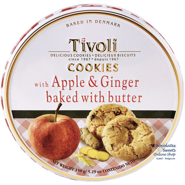 Cookies with Apple, Ginger and Butter 150g