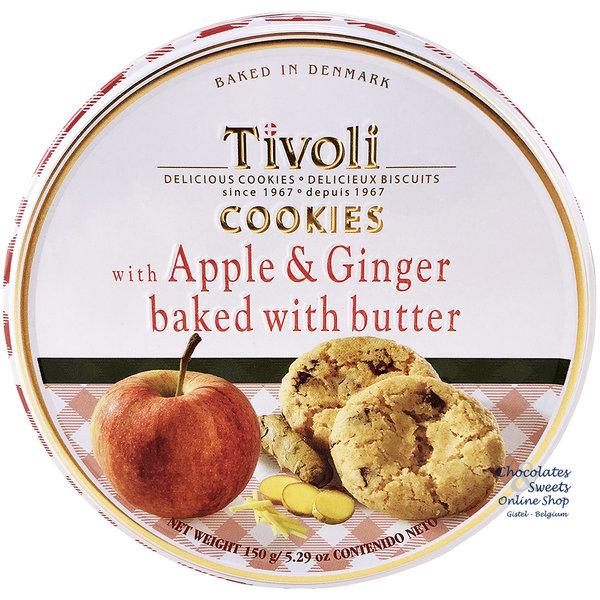Kekse mit Apfel, Ingwer und Butter 150g