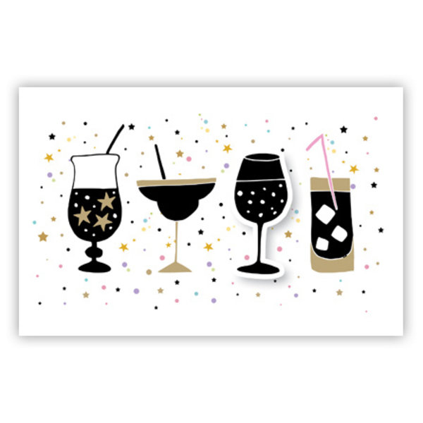 Carte de voeux 'Cocktails'