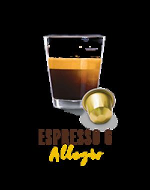 Belmio 10 Cups Espresso Allegro - Nespresso® compatible*