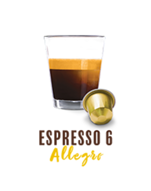 Belmio 10 Cups Espresso Allegro - Nespresso® kompatibel*