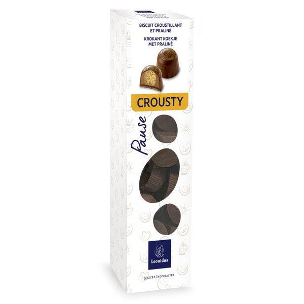 Leonidas Schachtel Crousty Schokoladenkekse 200g