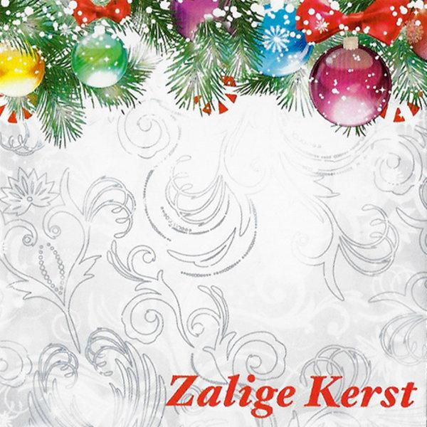 Grußkarte 'Zalige Kerst'