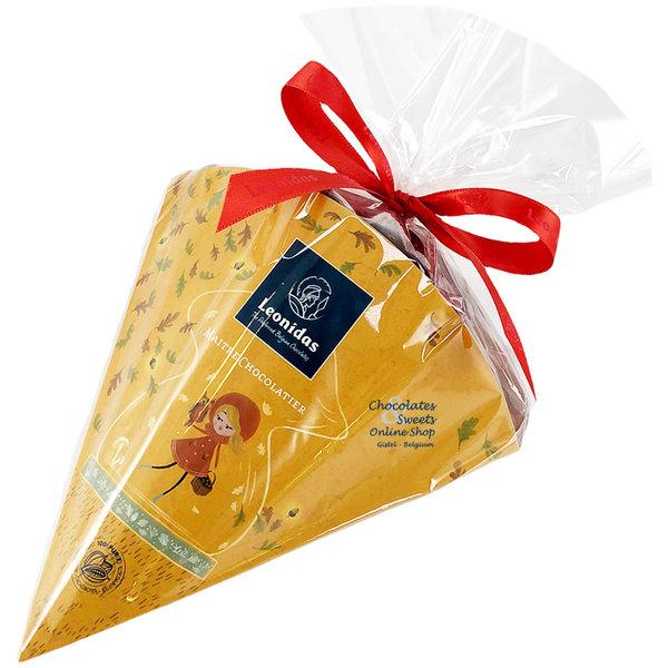 Cone bag with 300g Autumn chocolates