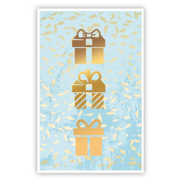 Grußkarte 'Geschenke'