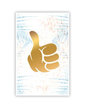 Thumbs up (11,5x18cm)