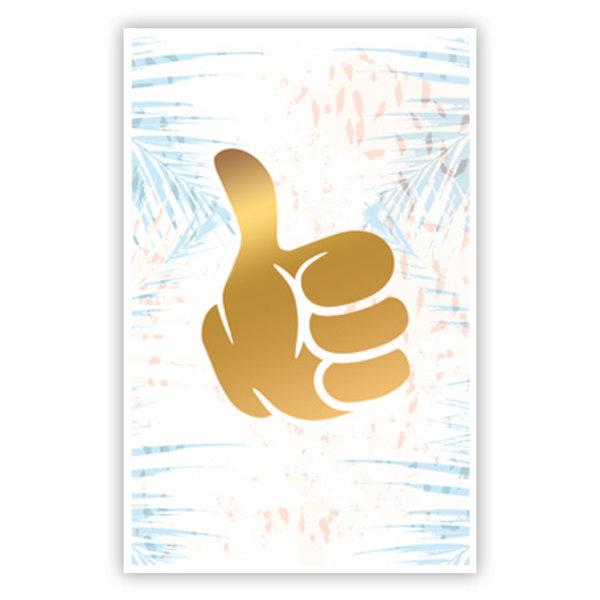 Greeting Card 'Thumbs up'