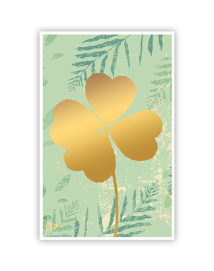 Four Leaf Clover (11,5x18cm)