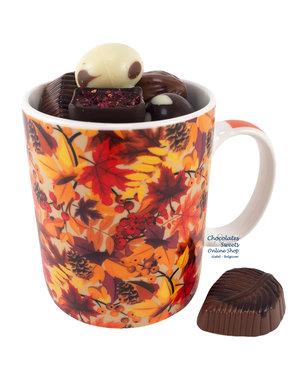 Mug 'Autumn' Autumn chocolates 250g