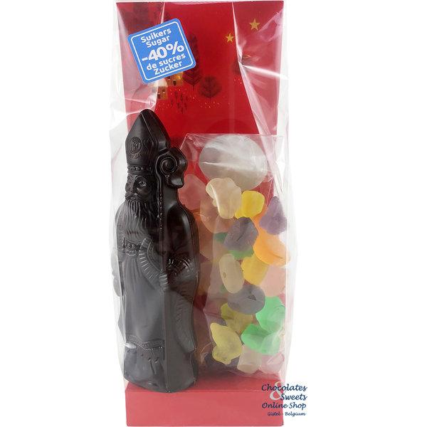 St-Nicholas bag (S) dark - Light in sugar